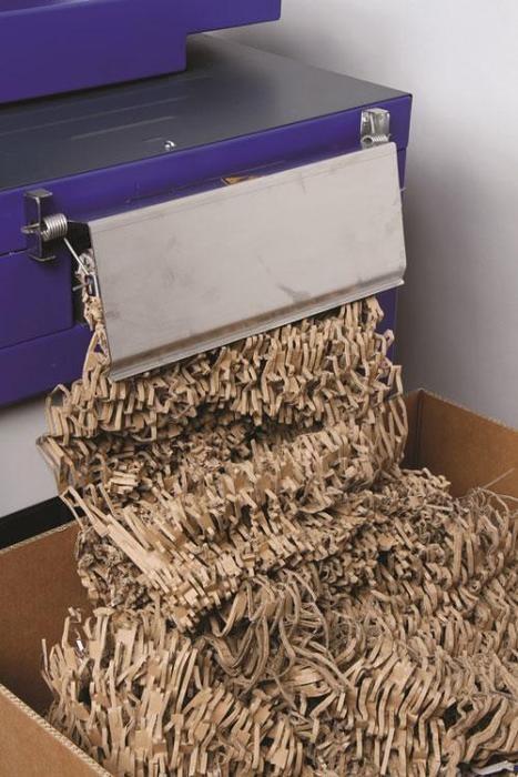 shredded box material