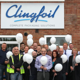 Clingfoil head office Poynton