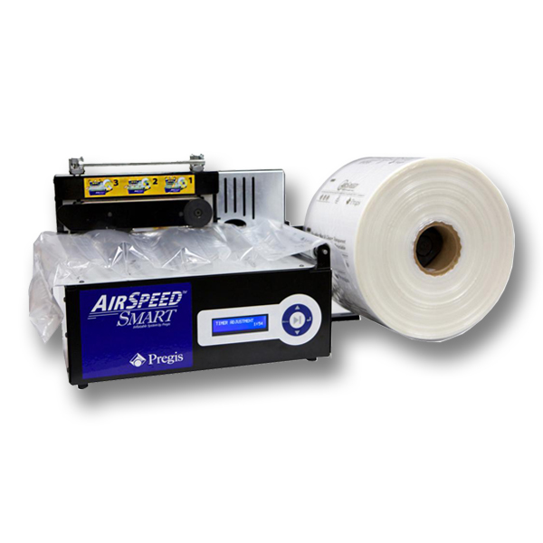 AirSpeed Smart™ Inflatable Void Fill System Rapid Packaging 1