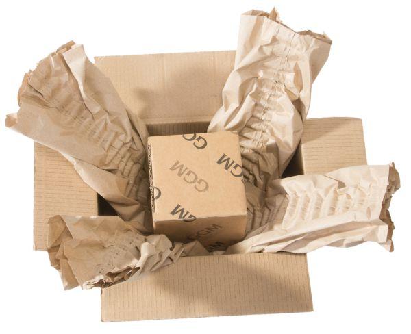 wrap cross paper cushion