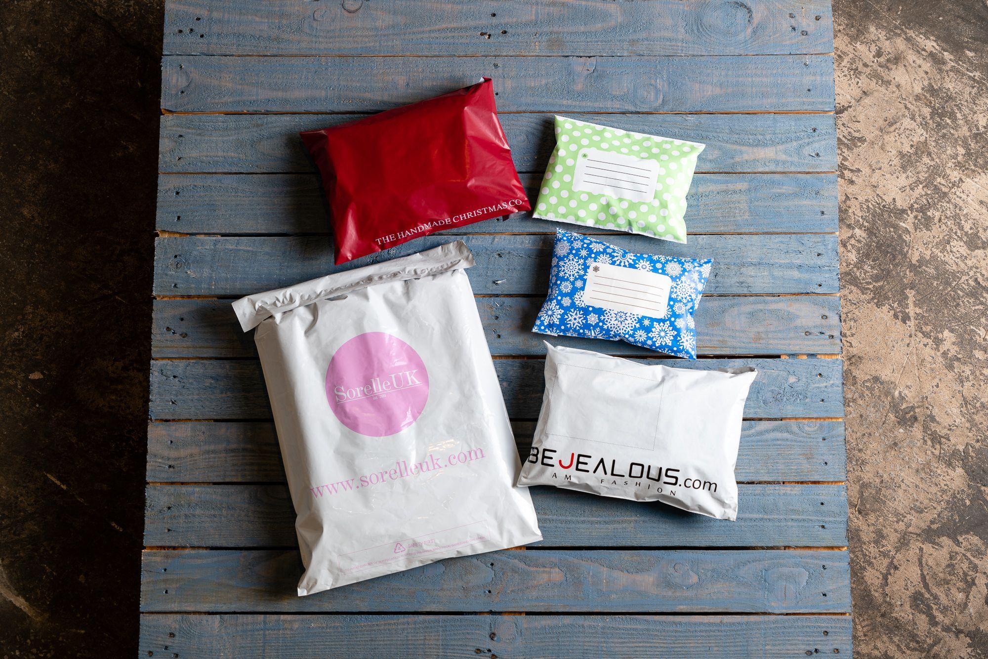 custom print mail bags