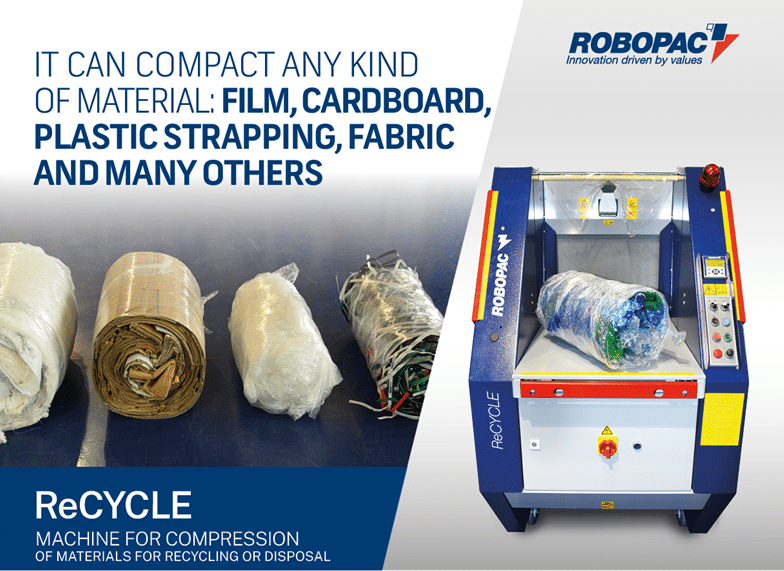 Robopac ReCYCLE – Compact and Reduce Waste Materials