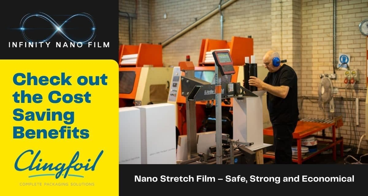 Nano Stretch Film – Safe, Strong and Economical – 55 Micro thin layers